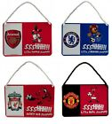 OFFICIAL FOOTBALL CLUB - MASCOT BEDROOM METAL SIGNS (Official Merchandise)