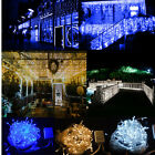 150/300 Led Fairy Curtain Icicle String Lights For Wedding Party Xmas Christmas