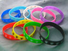 Pot Leaf Design Bracelet Silicone Wristband u pick 1 pc extras ship free 2B