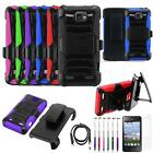 Phone Case For ZTE Zephyr / Sonata 2 / Paragon Holster USB Charger Film Stylus