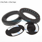 Replacement Ear Pads Headband Cushion for Bose QuietComfort QC15 QC2 Earphones