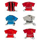 OFFICIAL FOOTBALL CLUB T-SHIRT GYM BAG SCHOOL BAG (Gifts, Xmas, Birthday)