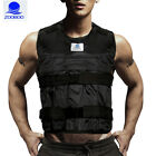Zooboo 44LBS Adjustable Weighted Vest + Leg Ankle + Hand Wrist Weights Fitness