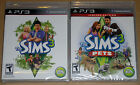 PS3 Game Lot - The Sims 3 (New) The Sims 3 Pets (New)