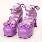 #9803 Sweet Gothic Punk KERA LOLITA shoes DOLLY Punk platform shoes 9.5cm heel