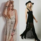 Bridesmaids Wedding Formal Women's Evening Prom Gown Cocktail Party Lace Dress