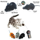 RC Mouse Novelty Gift Funny LB Wireless Remote Control Rat Toy For Dogs Pets