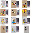 Funny Characters Cartoon Crystal Premium Hard Bumper Case Cover For iPad Series