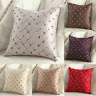Retro Sofa Home Bed Decor Throw Pillow Case Cushion Cover Square Plaid Pattern