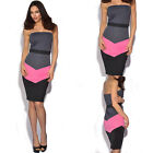 Women Sexy Summer bodycon Evening Cocktail Party Sleevesless Bra Mini Dress