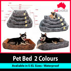 New Large Dog Bed Puppy Cat Pet Cushion Waterproof Soft Warm Washable S M L XL