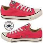 Womens Ladies Pink Ox Chuck Taylor All Star Converse Girls Juniors Trainers Shoe