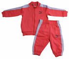 Puma Traditional Kids Pink Infant Boys ToddlersTracksuit 822425 08 U45
