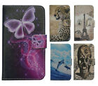 For iPhone Series High-level PU Leather Phone Case Cover Pocket Printed Animals