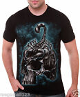 Rock Eagle T-Shirt Sz M L XL XXL 3XL Scorpion Skull Tattoo Biker Rider mma RE172