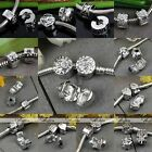 European Clasp Clip Lock Spacer Stopper Charms Beads For Snake Bracelet DIY Gift