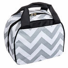 Round Insulated Lunch Tote Handbag Bag