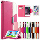 For iPhone 6S iPhone 6 Flip Leather Wallet Card Holder Stand Magnetic Case Cover