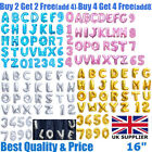 "Gold Silver 16"" Alphabet Letter A-Z Number 0-9 Foil Balloons Wedding Party Name"