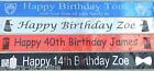 DOCTOR DR WHO PERSONALISED BANNER, Birthday or any other occasion, FAST DESPATCH