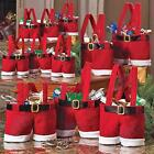 New Red Santa Claus Christmas Xmas Wedding Candy Bags Trick-or-treat Gift Bag W