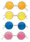 Groovy Hippie Round Glasses 60s 70s Rocker Style Halloween Costume Cool Shades