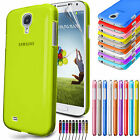 Transparent Ultra Thin Case Cover For SAMSUNG GALAXY S4 IV i9500 Free Protector