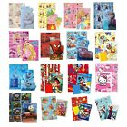 RANGE OF LICENSED CHARACTER WRAPPING PAPER, CARD & TAG