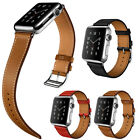 NEW Single Tour Genuine Leather iwatch Band Strap Bracelet For Apple Watch 42MM