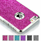For iPhone 6S / 6S Plus Luxury Bling Glitter Crystal Plastic Hard Case Cover