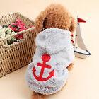 Dog Cat Coat Jacket Pet Clothes Winter Hooded Apparel Clothing Puppy Costume Hot