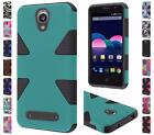 For ZTE Obsidian Z820 Dynamic Hybrid Dual Layer Cover Case