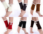 Girl Crochet Knitted Lace Trim Boot Cuffs Toppers Leg Warmers Winter Socks YS