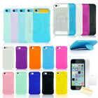 For Apple iPhone 5C C Hybrid Shockproof Hard Rugged Heavy Duty Cover Case