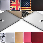 Matte Rubberised Hard Protector Case Shell Cover For Apple MacBook 12 inch 2015