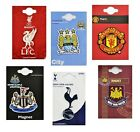 OFFICIAL FOOTBALL CLUB - 3D CREST FRIDGE MAGNETS - 8 Teams ]