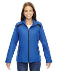 North End Tempo Jacket Ladies' Lightweight Recycled Polyester Embossed 78188