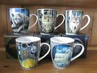 NEW MUGS WOLF CAT OWL DESIGNS BY LISA PARKER - NEW IN PRESENTATION BOX