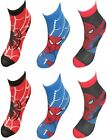 Marvel Spiderman Boys 6 pack Socks