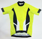 Bioceramic CYCLING JERSEY in Hi-Vis Yellow Made in Italy by GSG