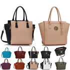 Ladies Women's Fashion Quality Shoudler Large Size Tote Zipper Bags Handbags