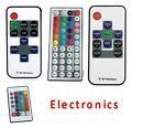 For 3528 5050 RGB LED Strip Light 10/24/44 Key IR Remote Wireless Controller