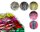 3 ft x 8 ft Metallic Fringe Curtains Photo Backdrop Party Prom Grad Decoration