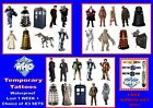 DR WHO temporary TATTOOS 3 diff sets WATERPROOF sticker tattoo LAST 1 WEEK+