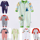 Fall Newborn Infant  Baby Cloth Romper Cotton Jumpsuit Sleepsuits One-Pieces New