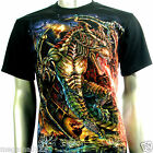 LIMITED ED RC Survivor T-Shirt M L XL XXL 3XL Fire Dragon Tattoo Fantasy C144 D2