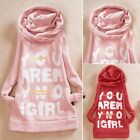 Pullover Women's Letters Athletic Hoodie Sweats Track Outwear Top Apparel Pocket