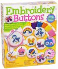 Great Gizmos Embroidery Buttons Kids Cross stitch Sewing Kit Childrens Craft Toy