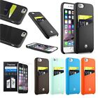 "CobblePro Leather Card Back Case+Protector For iPhone 6 6s Plus 4.7""/5.5"""