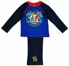 Boys Official Power Rangers Dino Charge Long Cotton Pyjamas Blue 4 to 8 Years